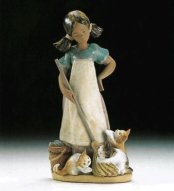 Lladro Playful Kittens 1994-99 Porcelain Figurine