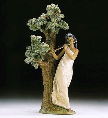 Lladro Musical Muse 1994-97 Porcelain Figurine