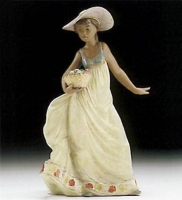 LladroCarefree 1994-99Porcelain Figurine