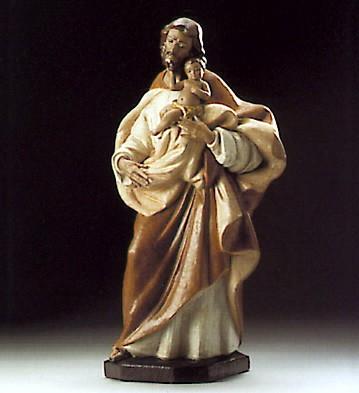 LladroJesus And JosephPorcelain Figurine