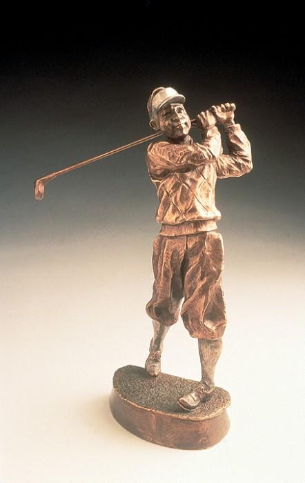 Mark HopkinsFairwayBronze Sculpture