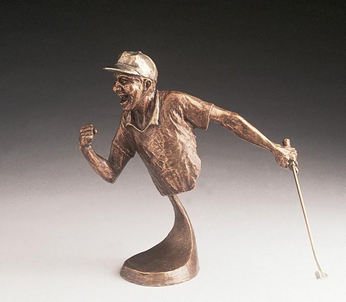Mark HopkinsYes!Bronze Sculpture