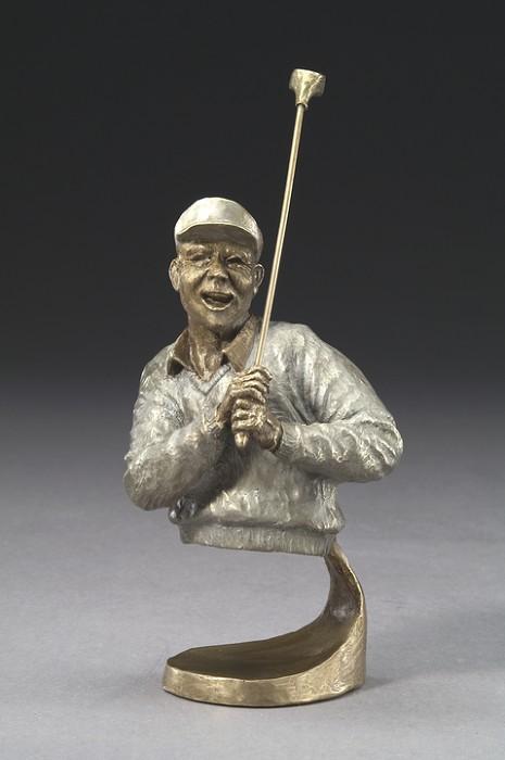 Mark HopkinsAll Right!Bronze Sculpture
