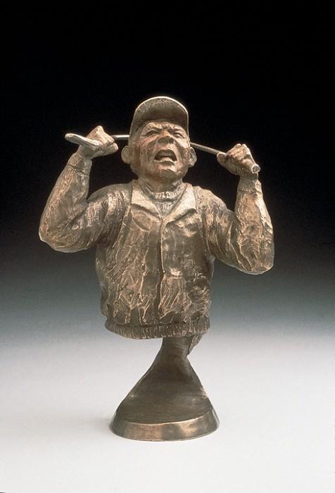 Mark HopkinsNot AgainBronze Sculpture
