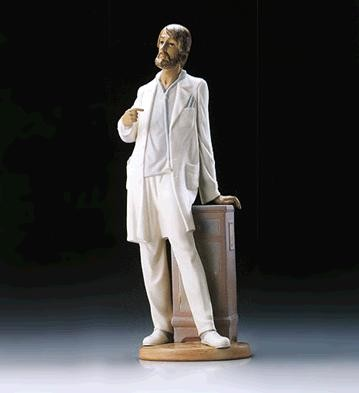 Lladro Physician 1995-97 Porcelain Figurine