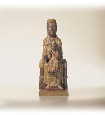 LladroVirgin Of Montserat 1996-03Porcelain Figurine