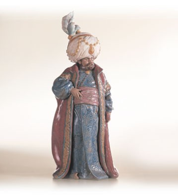 Lladro The Sultan 1996-2002 Porcelain Figurine