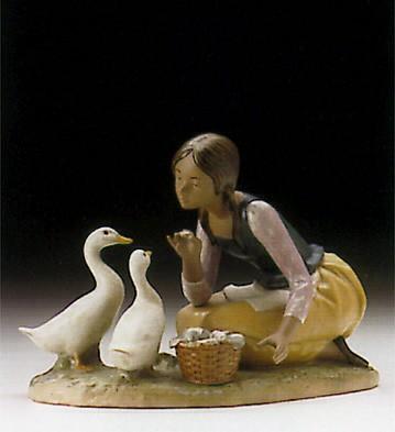 LladroFeeding The Ducks 1996-99