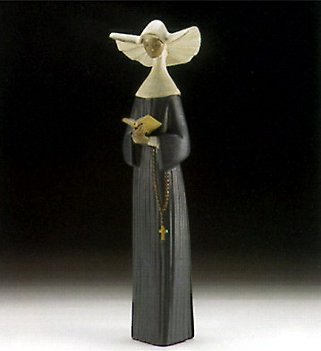 Lladro A Prayful Moment (blue) 1996-99