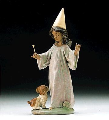Lladro Under My Spell 1996-99 Porcelain Figurine