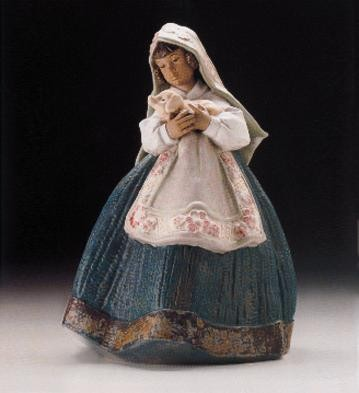 Lladro Country Joy 1997-99 Porcelain Figurine