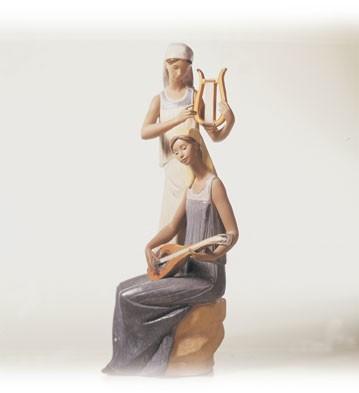 LladroMelodiesPorcelain Figurine
