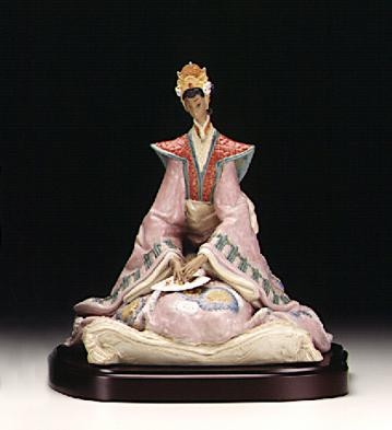 Lladro Empress (coloured) 1998-2000 Porcelain Figurine