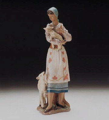 Lladro What About Me? 1998-2000 Porcelain Figurine