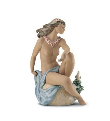 LladroIsland Breeze 1999-2001Porcelain Figurine