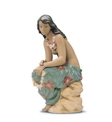 LladroPacific Beauty 1999-2001Porcelain Figurine