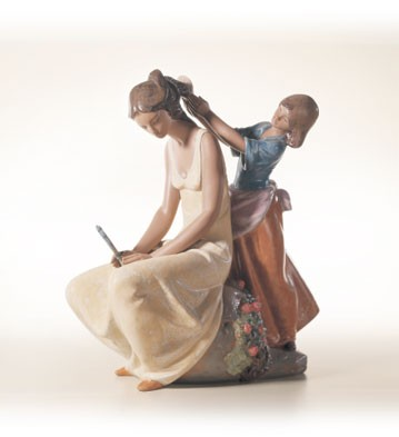 Lladro Little Hairdresser 2001-03 Porcelain Figurine