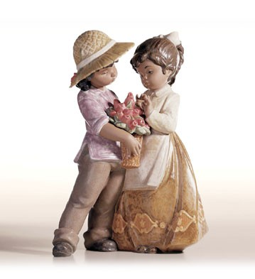 Retired Lladro A Child's Present