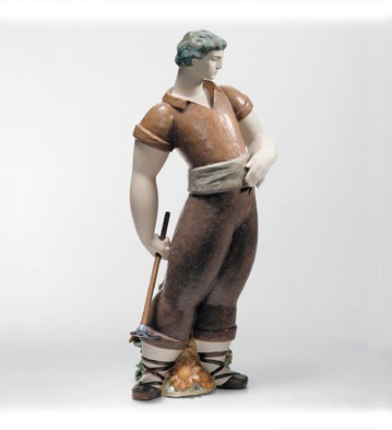 LladroFarmer 2004-08Porcelain Figurine