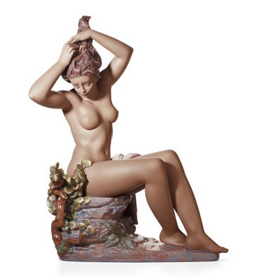 Lladro Morning Breeze Porcelain Figurine