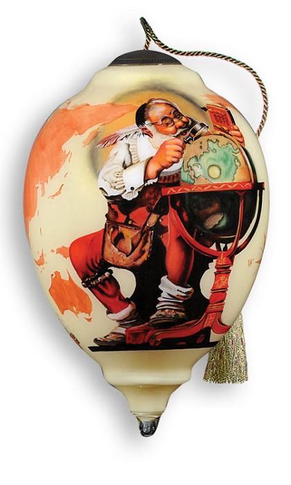 NeqwaChecking it twice  Ornament  By Norman Rockwell