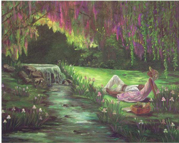 GamboaRomance Artist ProofGiclee On Canvas Artist Proof