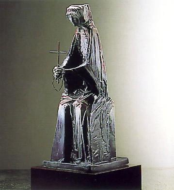 LladroIsabel De Catolica (blue.7) Le350 1986-88Porcelain Figurine
