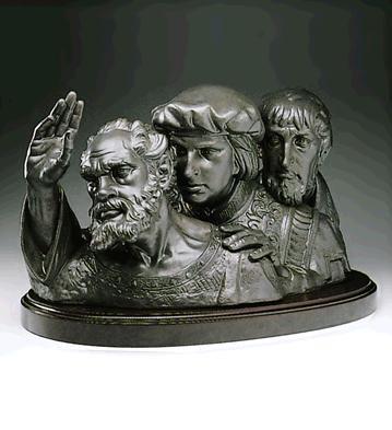 LladroDiscoveries Le100 1990-94Porcelain Figurine