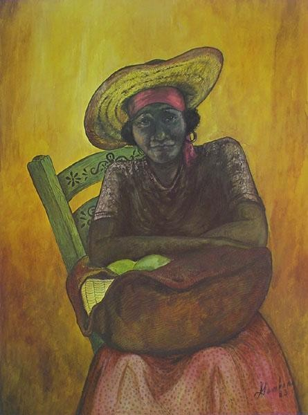 Gamboa Carribean Woman