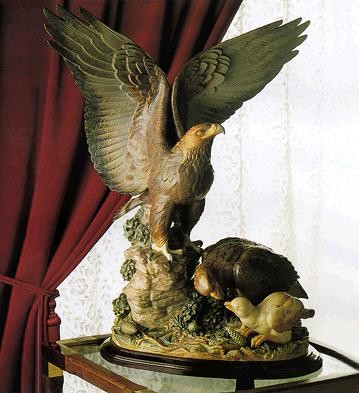 Lladro Eagles Nest Le300 1981-94
