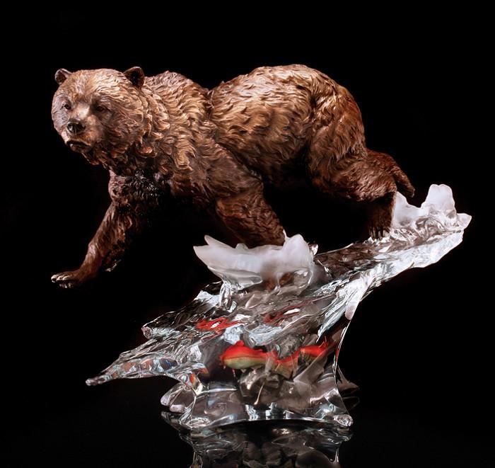 Kitty CantrellSolitary Hunter Artist ProofMixed Media Sculpture