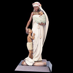 Thomas Blackshear Legends Madonna Legends (bronze) Mixed Media Sculpture