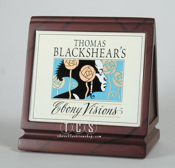 Ebony Visions Dealer Plaque