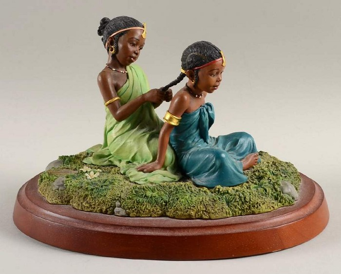 Ebony VisionsSisters In Childhood