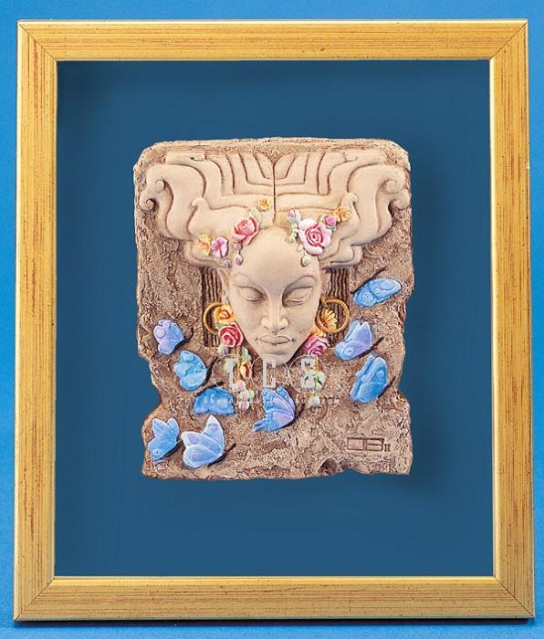 Ebony VisionsSpring Time Plaque - No Box