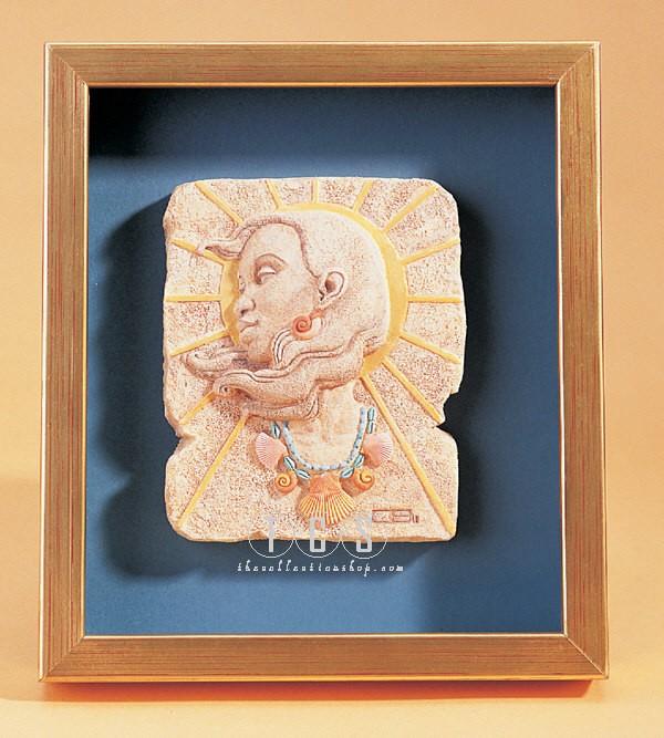Ebony VisionsSummertime Bas-Relief Plaque