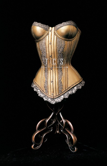 Christopher Pardell Corset Mixed Media Sculpture