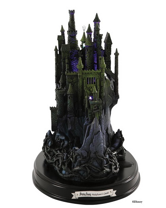 WDCC Disney Classics Sleeping Beauty Maleficents Castle Forbidden Fortress