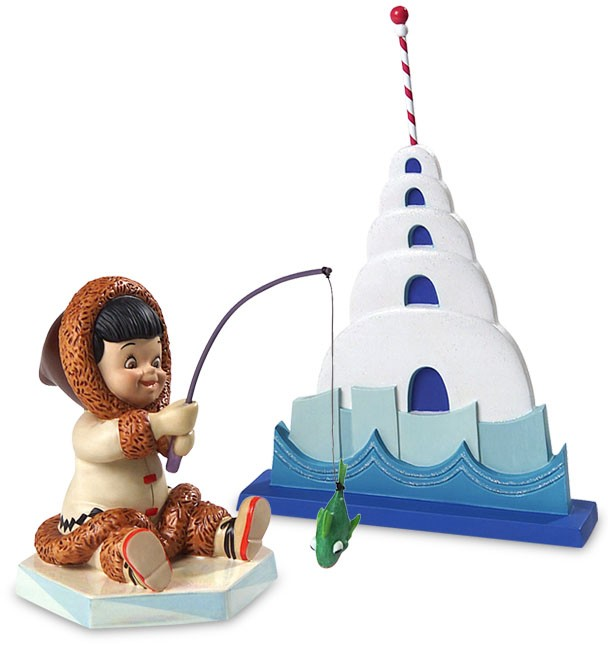 WDCC Disney Classics It's A Small World North Pole Eskimo