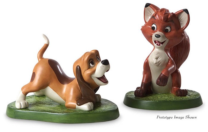 WDCC Disney Classics The Fox And The Hound Copper And Todd The Best Of Friends