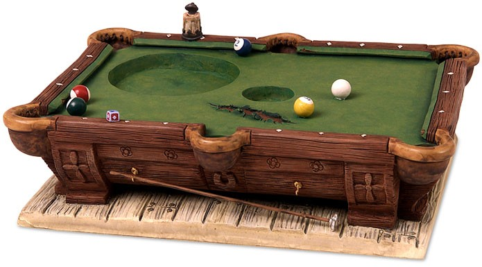 WDCC Disney Classics Pool Table Base From Pinocchio