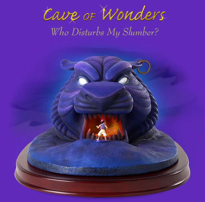 WDCC Disney Classics Aladdin Cave Of Wonders Who Disturbs My Slumber