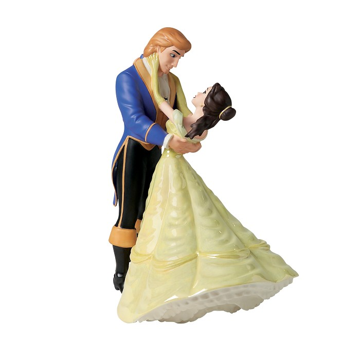 WDCC Disney Classics Beauty And The Beast  Belle And Prince The Spell Is Lifted