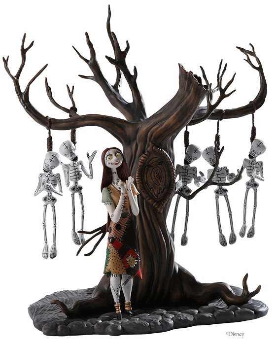 WDCC Disney Classics The Nightmare Before Christmas Sally With Skeleton Tree
