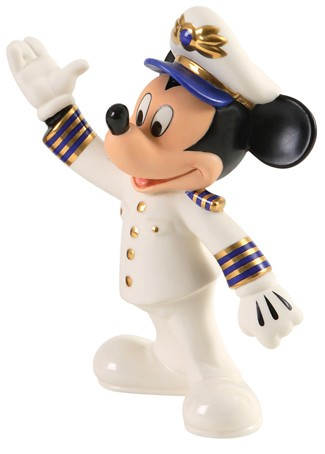 WDCC Disney Classics Mickey Mouse Set Sail for Fun Disney Cruise Line Exclusive