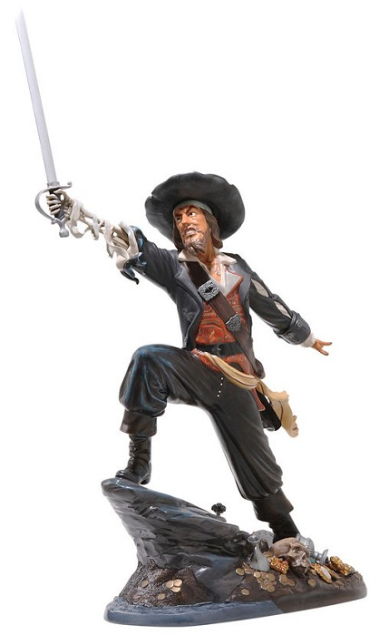 WDCC Disney Classics Pirates Of The Caribbean Captain Barbosa Black-Hearted Brigand