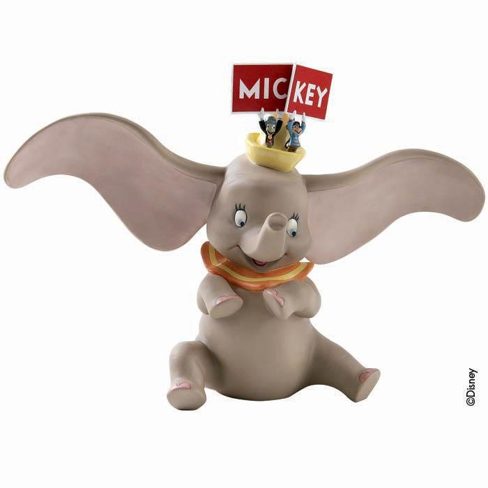 WDCC Disney Classics Dumbo, Timothy Mouse And Jiminy Cricket Spell It Out