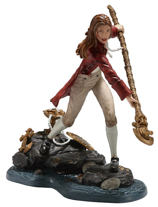 WDCC Disney Classics Pirates Of The Caribbean Elizabeth Swann Daring Determination