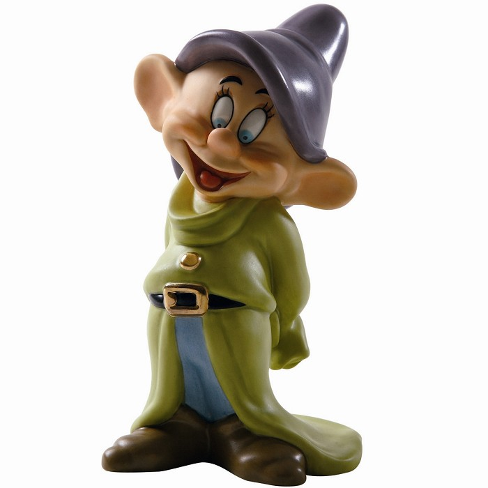 WDCC Disney Classics Snow White Dopey Gleeful Grin
