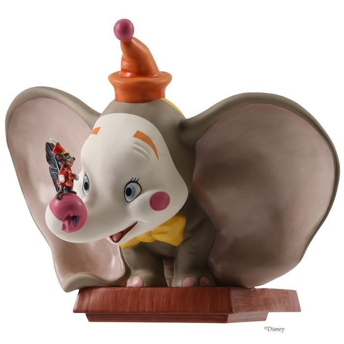 WDCC Disney Classics Dumbo Clown Face With Timothy